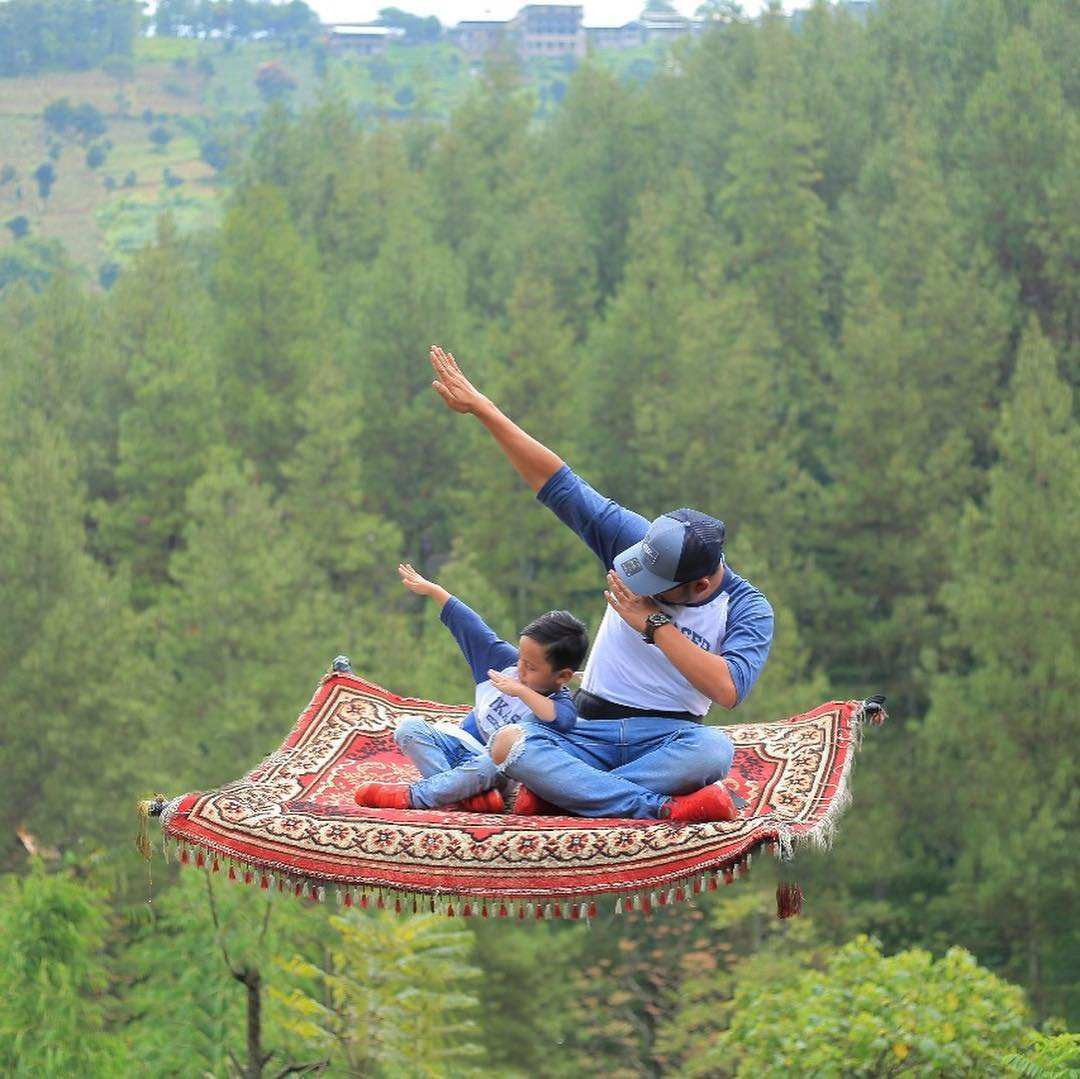 Aladin Karpet Dago Dream Park, Images From @mimiwaheeda