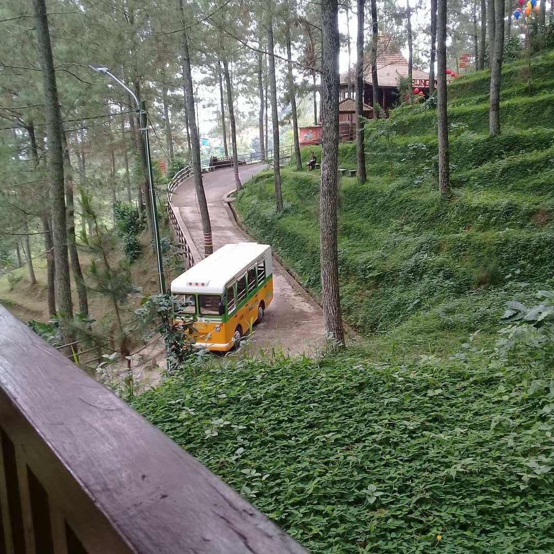 Bus Kecil Yang Mengantar Pengunjung, Images From @amankreno