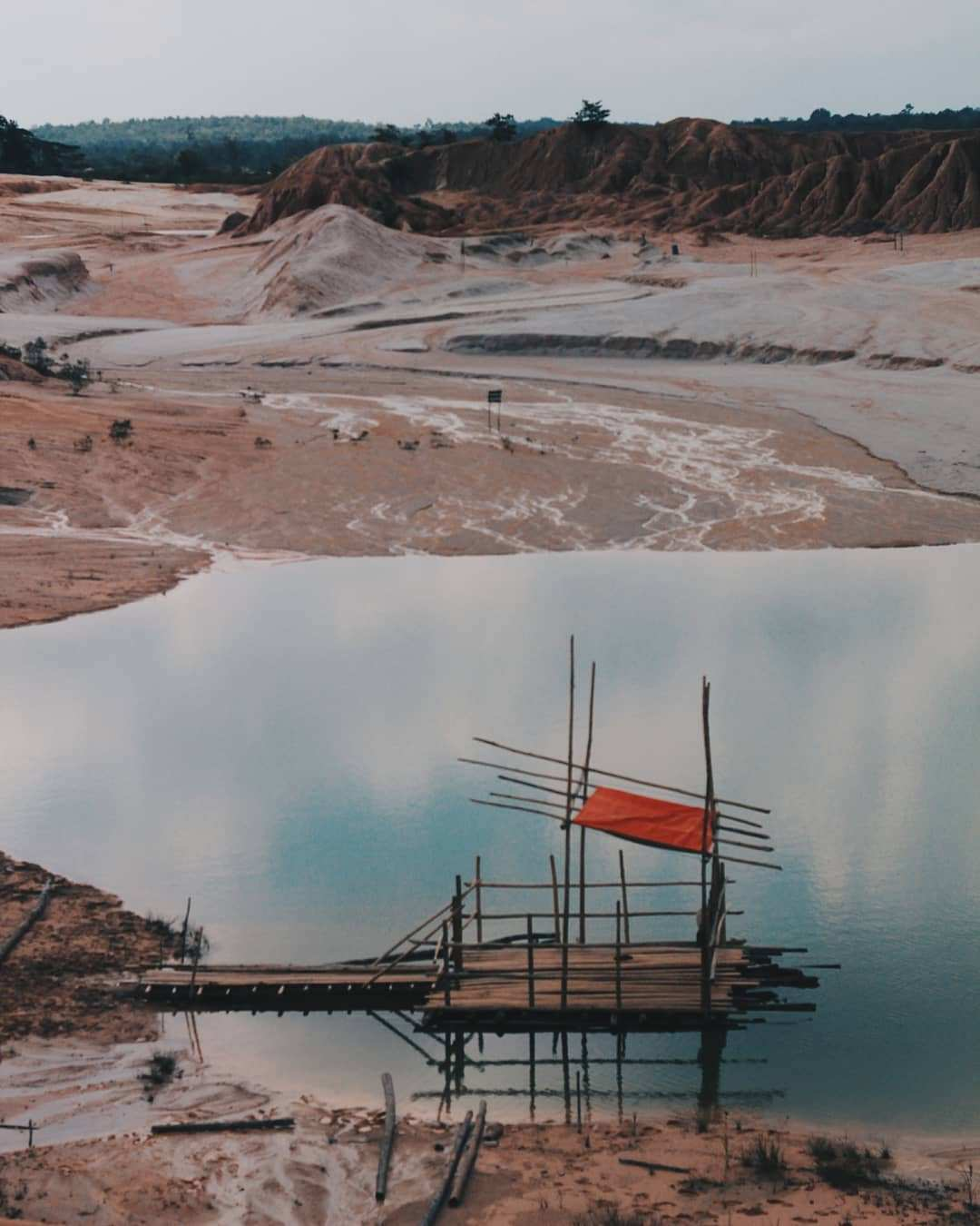 Danau Pelawan Namang Bangka, Images From @fotograferoleng