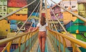 Jembatan di kampung jodipan, Images From @laurainwaterland