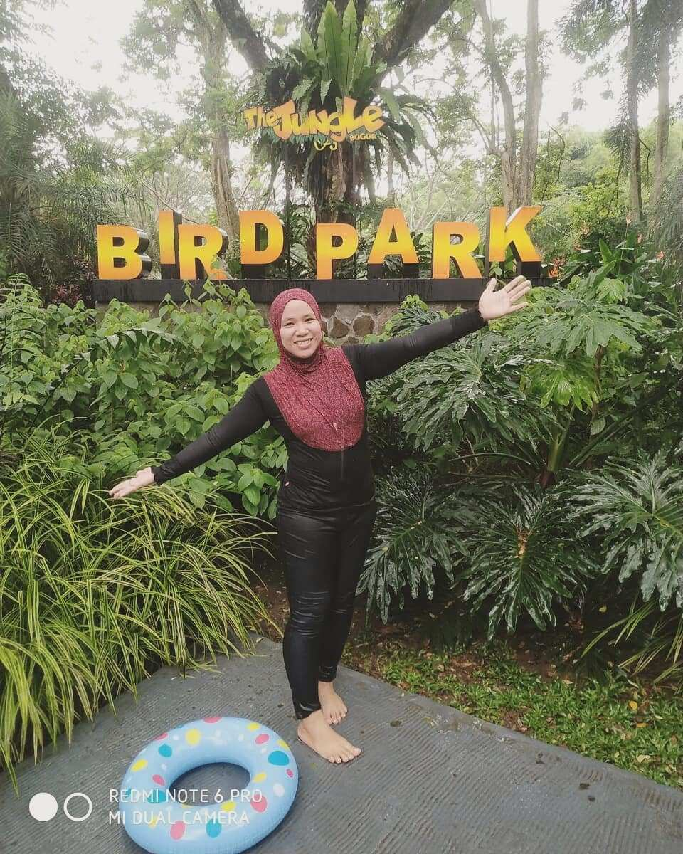 Bird Park di The Jungle WAterpark Bogor. Image From @yunie_aqilah