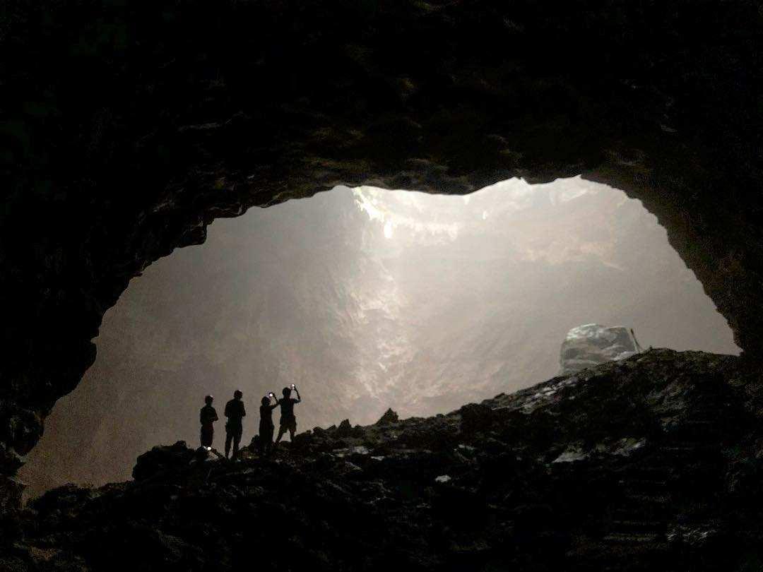 Menemukan Lokasi Spot Utama Goa Jomblang, Image From @monster_xj
