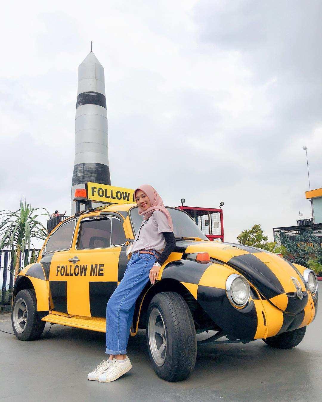 Mobil VW Kodok di Museum Angkut Malang, Image From @megaerlinda98