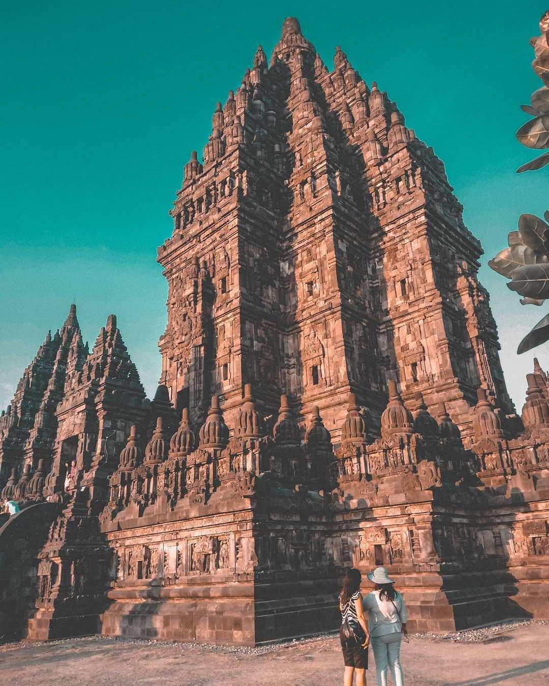 Salah Satu Candi Terbesar di Candi Prambanan, Image From @fuzizuf