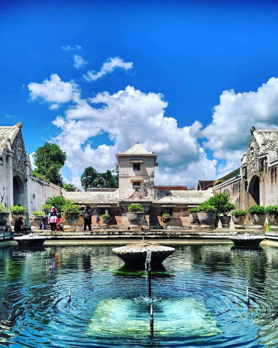 Taman Sari Jogja, Image From @parlinsiregar30