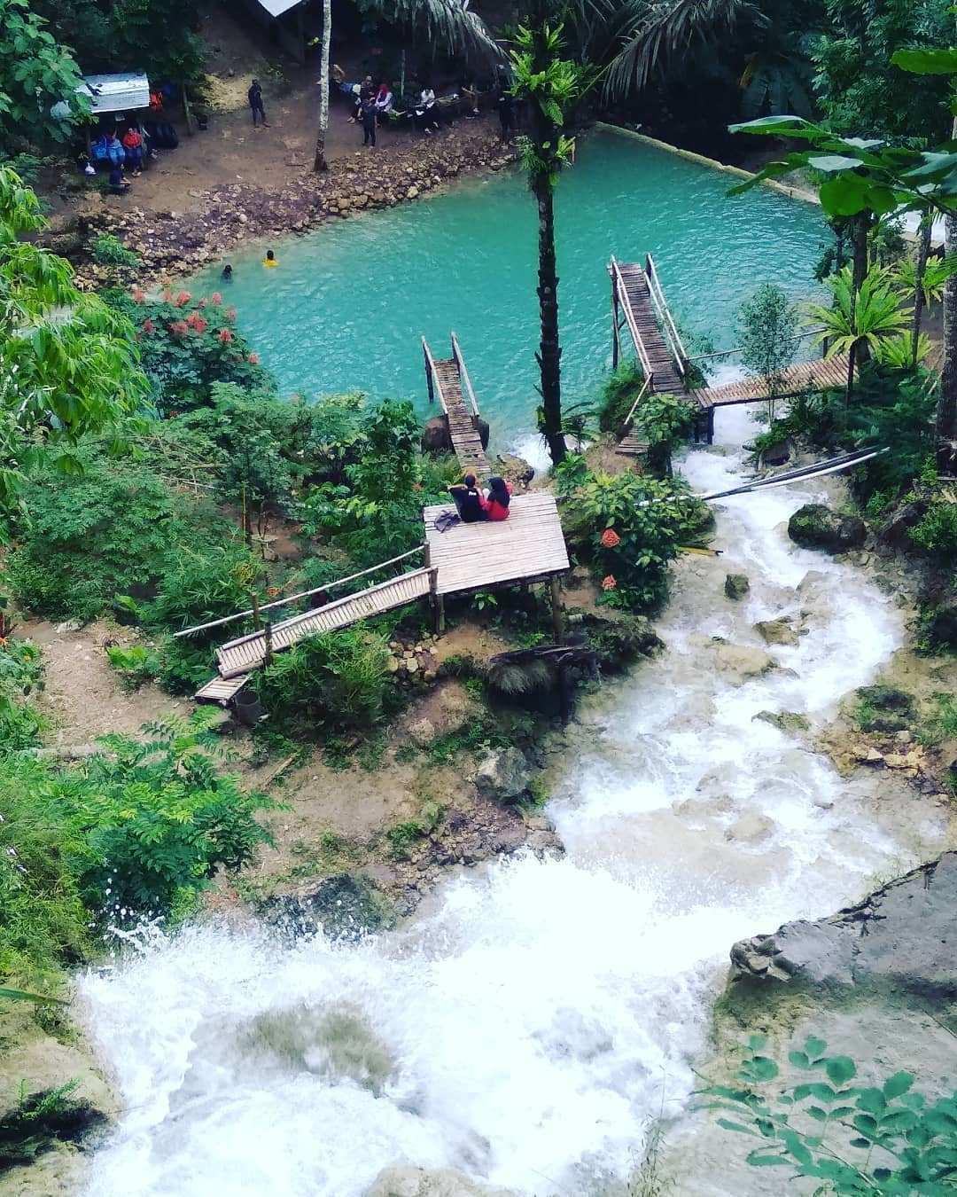 Foto Air Terjun Kembang Soka Dari Bagian Atas, Image From @air_terjun_kembangsoka