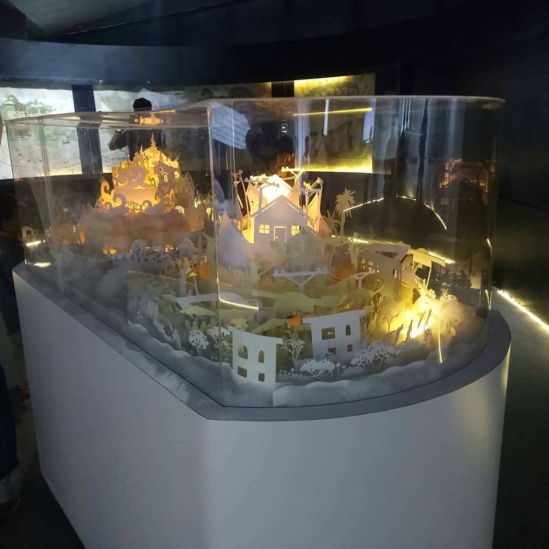 Isi Museum Tsunami Aceh Image From @marlsianipar