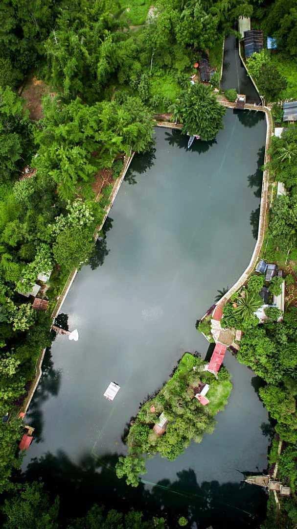 Lokasi Situ Cipanten Dilihat Dari Atas, Image From @agoy_cenghar