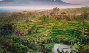 Pemandangan di Ketep Pass Magelang, Image From @bang_tora