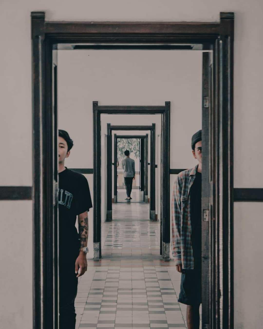 Pintu di Lawang Sewu Yang Menghubungkan Setiap Ruangan, Image From @aditya.morningstar