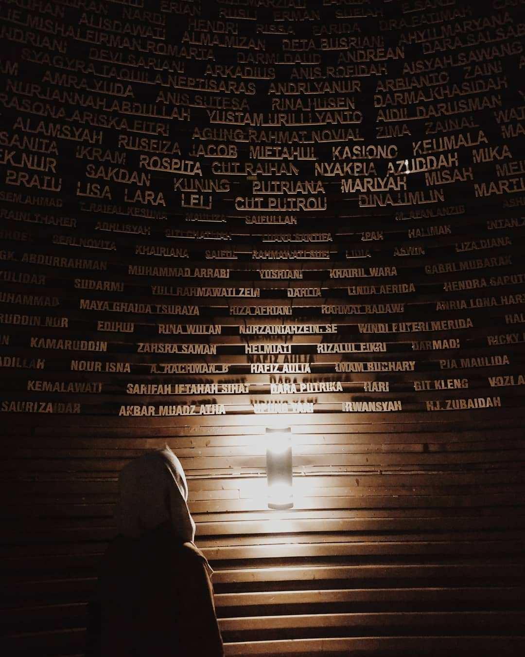 Ruang Cahaya Tuhan di Museum Tsunami Aceh Image From @yunnirahmma
