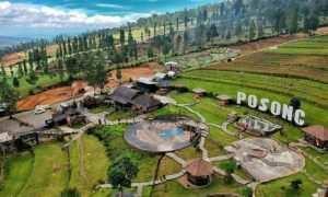 WIsata Alam Lembah Sindoro Posong di Lihat Dari Atas, Image From @rentalmobilsemarang_rajawali