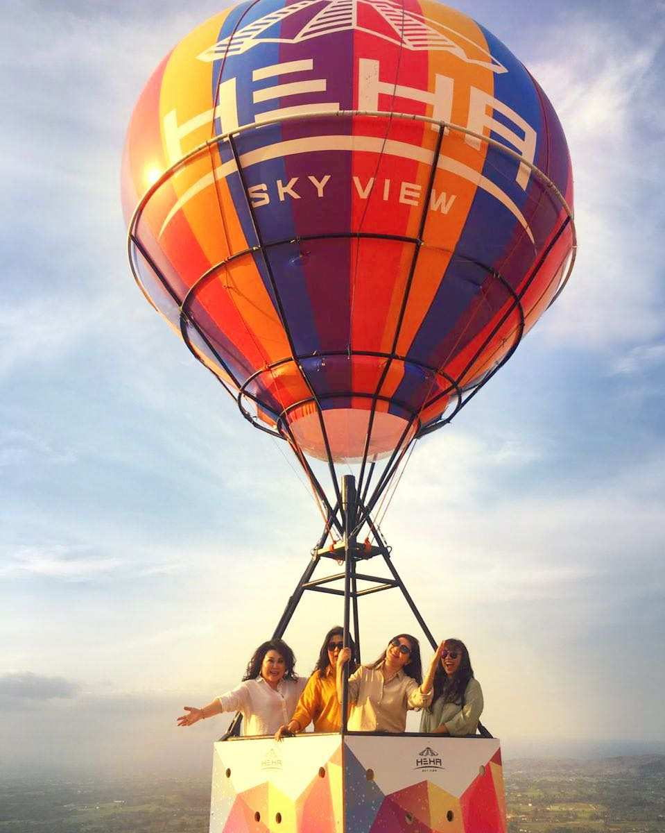 Berfoto di Balon Udara HeHa Sky View Jogja, Image From @hehaskyview