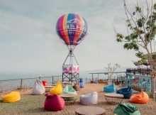 Tempat Bersantai di HeHa Sky View Jogja, Image From @hehaskyview