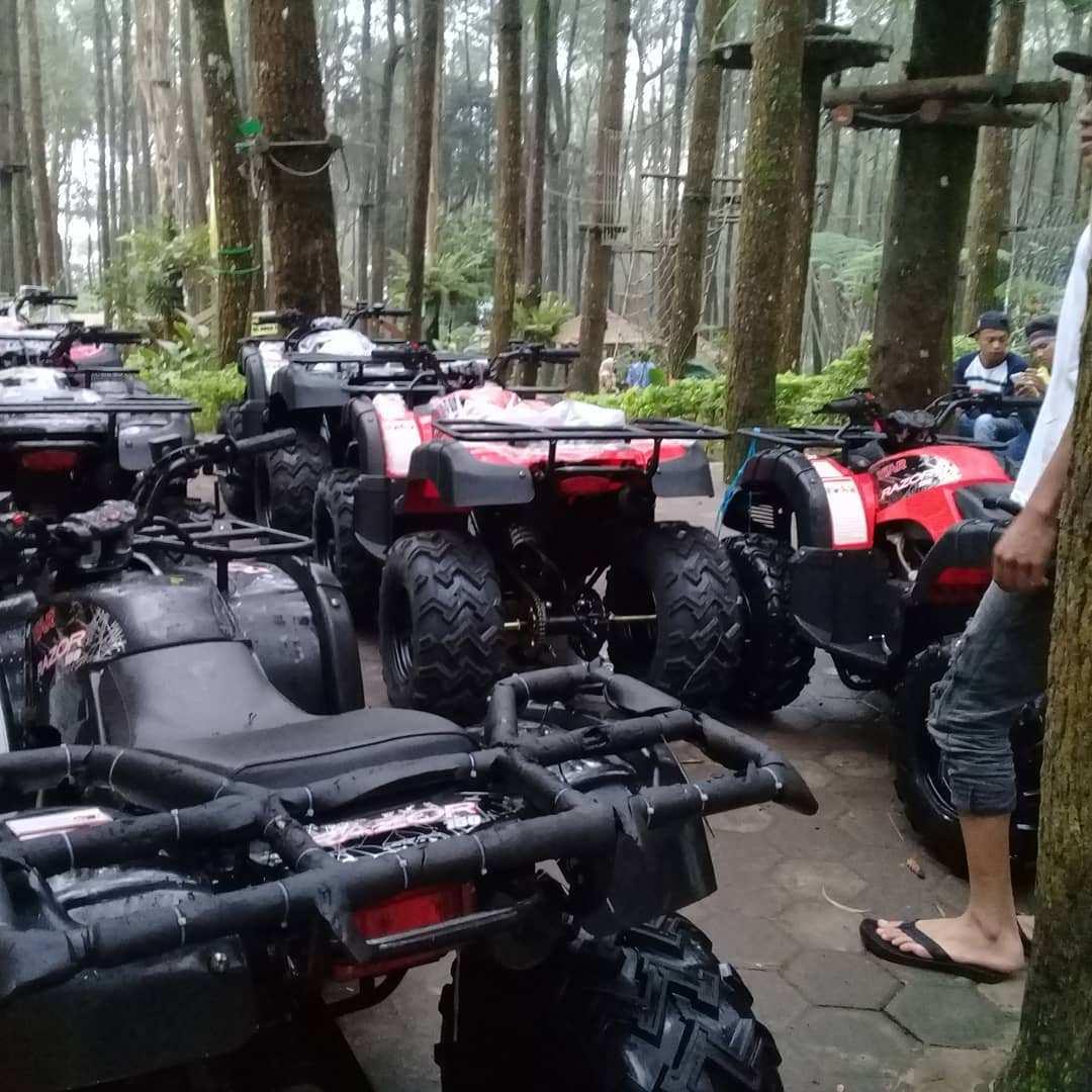 ATV di Kopeng Treetop Semarang, Image From @rhilo_pambudi19