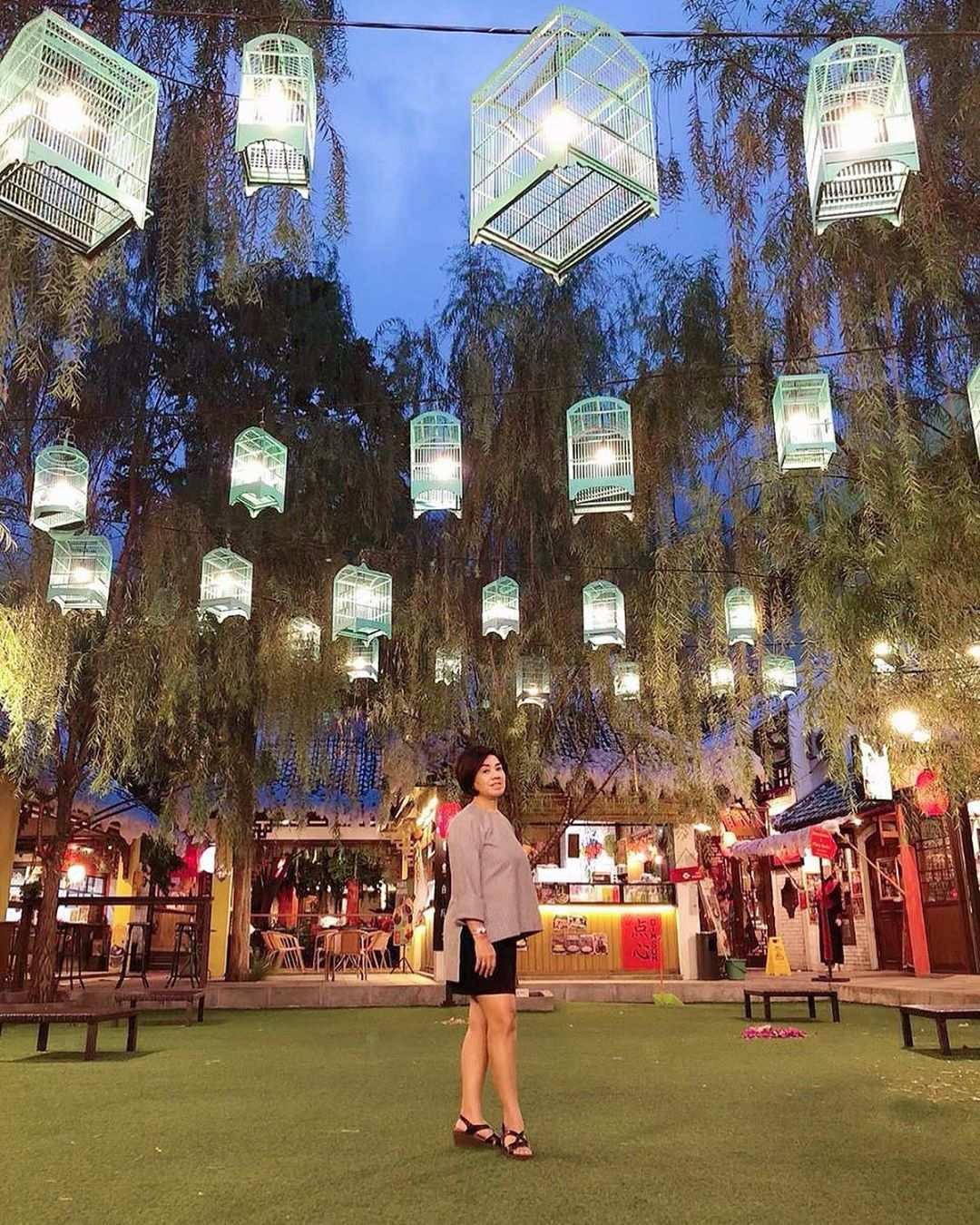 Dekorasi dan Suasana di Chinatown Bandung, Image From @ledia_pattiwael