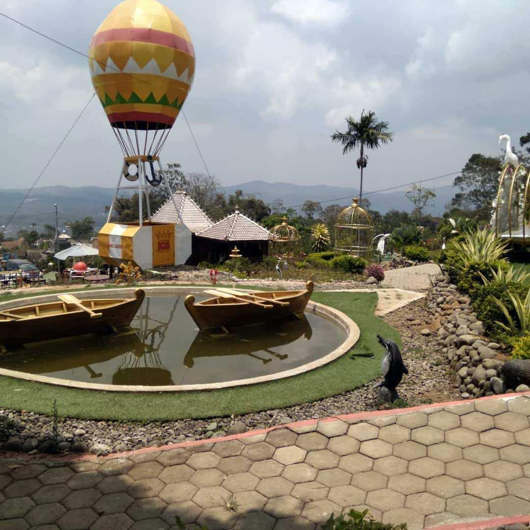 Spot Foto Balon Udara di King Garden Semarang, Image From @chusnul.choliq