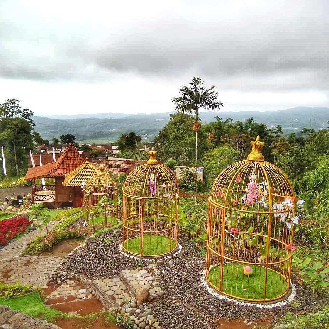 Spot Foto Sangkar Emas di King Garden Semarang, Image From @kinggarden.bandungan