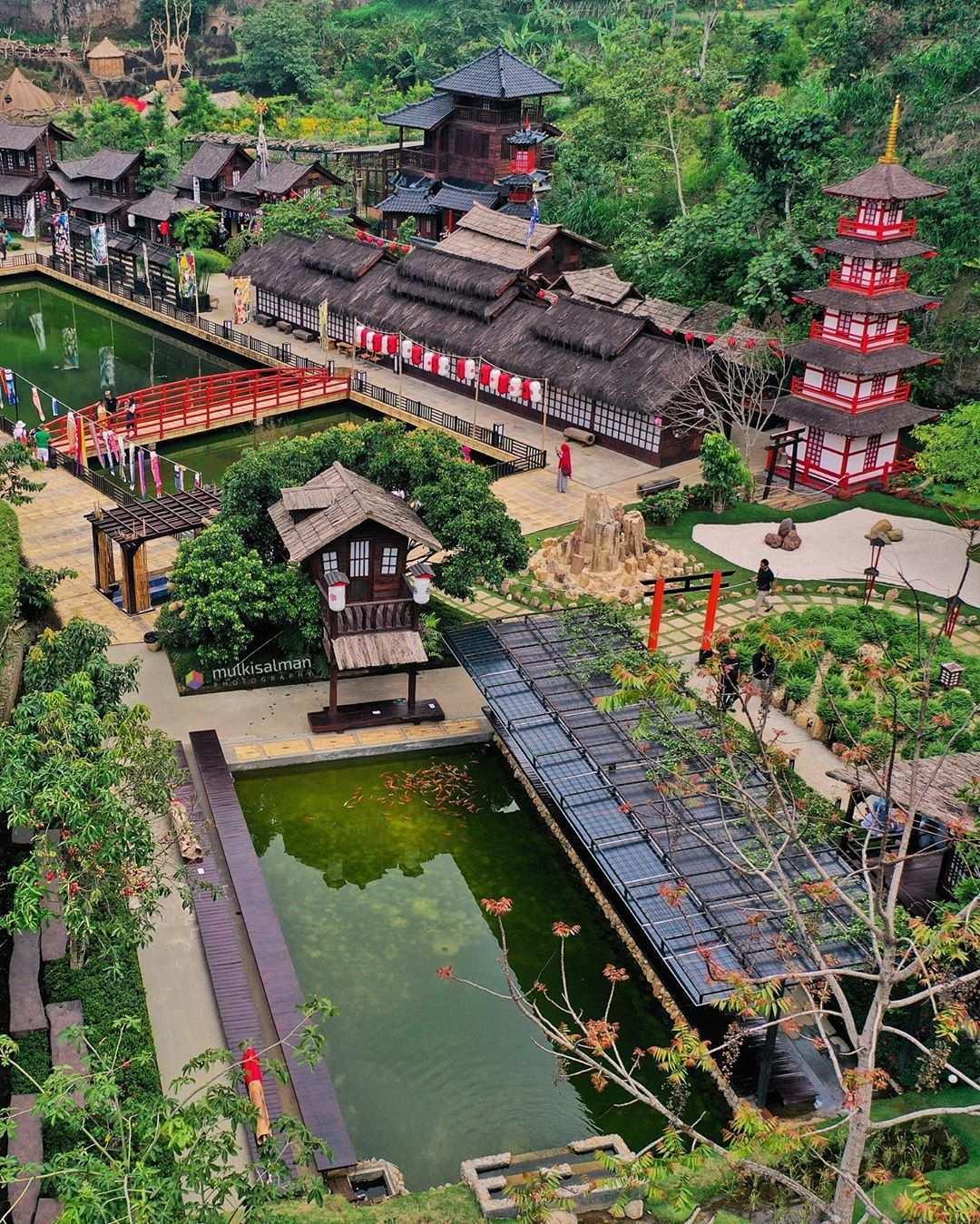Arsitekture Pemukiman Jepang di The Great Asia Afrika, Image From @mulkisalman