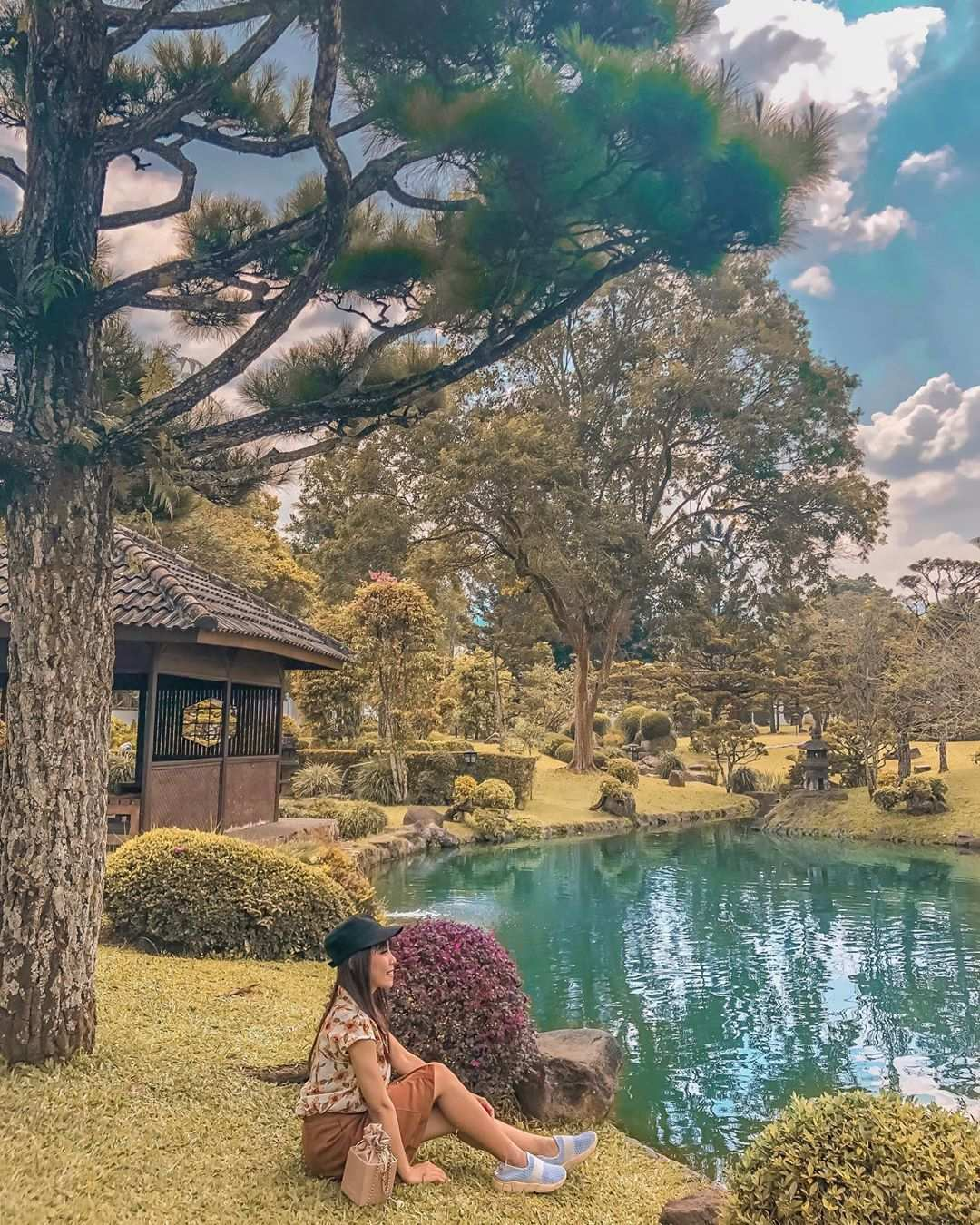 Bersantai di Taman Bunga NUsantara Image From @ekapwanda15