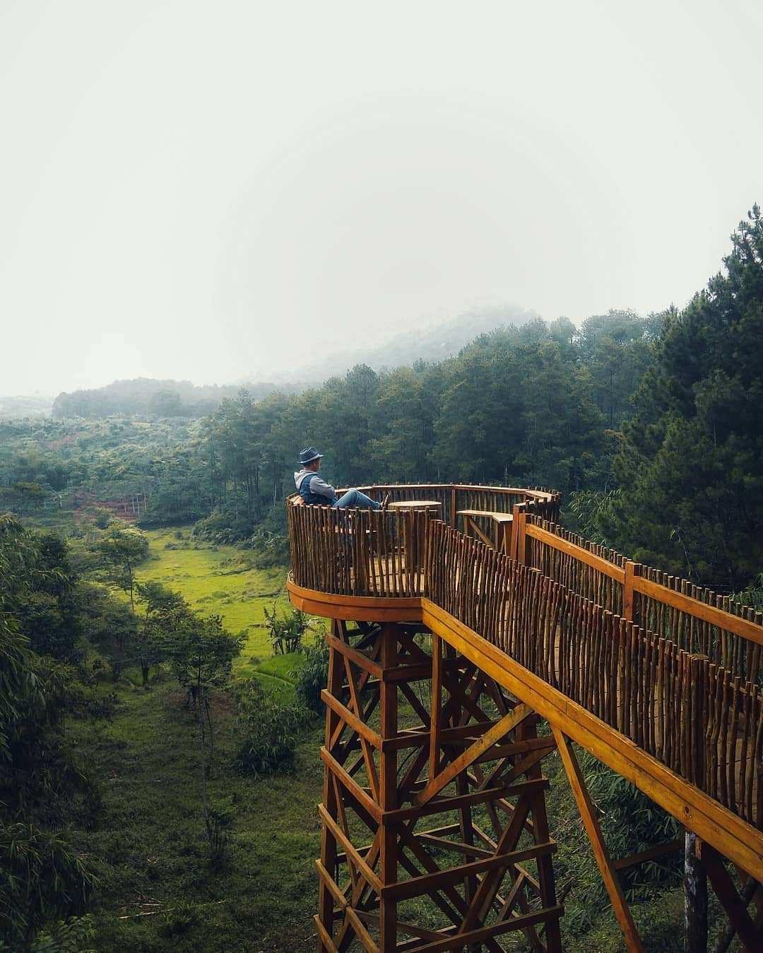 Gardu Pandang Wisata Bakukung Image From @ridwan_taufik