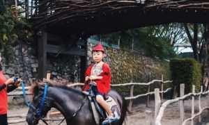 Menaiki Kuda di The Ranch Cisarua Puncak, Image From @hennhsu
