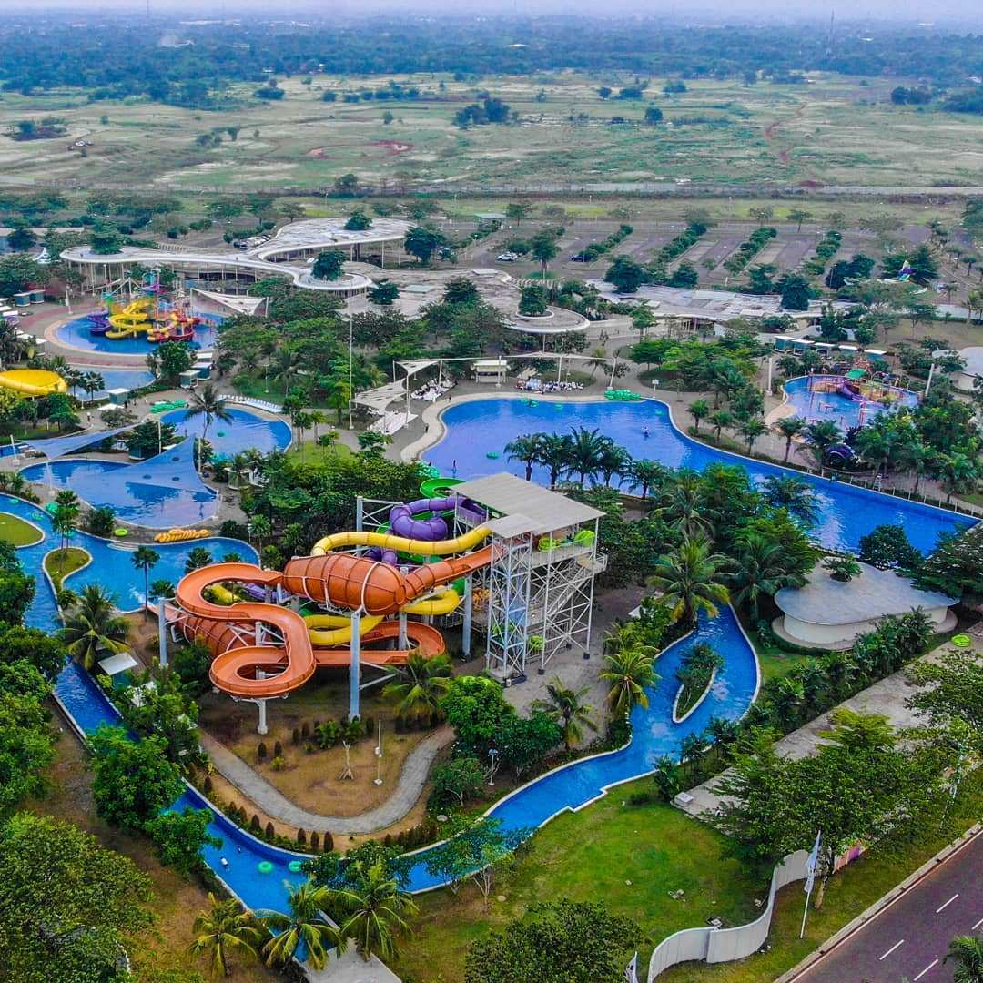 Go Wet Waterpark Bekasi, Image From @tommyputras