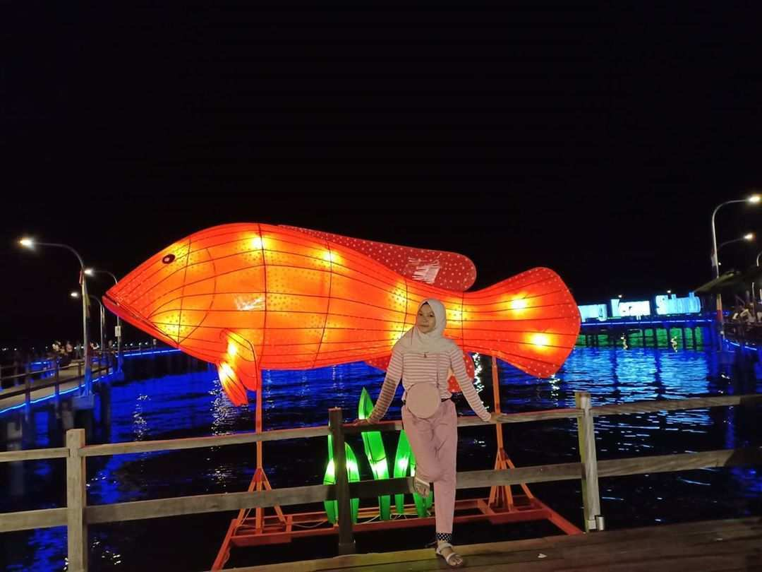 Lampion di Kampung Kerapu Situbondo, Image From @shinta_chiby