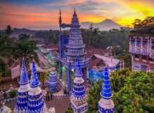 Masjid Tiban Malang Dilihat Dari Atas, Image From @adi_mrizal