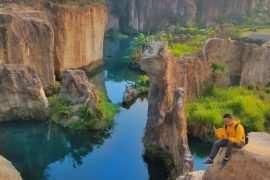 Suasana pemandangan dari atas Tebing di Tebing Koja Tanggerang Image From @idhayhidayat 270x180