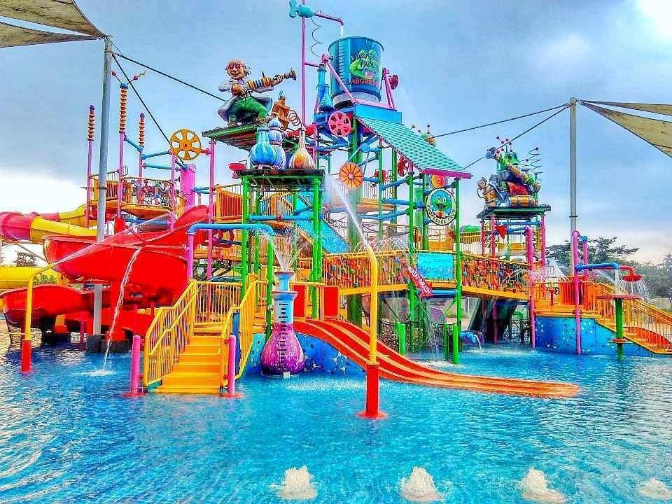 Wahana Go! Splash di Go Wet Waterpark Bekasi, Image From @apedidie
