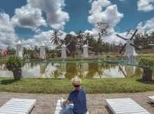 Bersantai di Alamanda Jogja Flower Garden, Image From @sartikandach