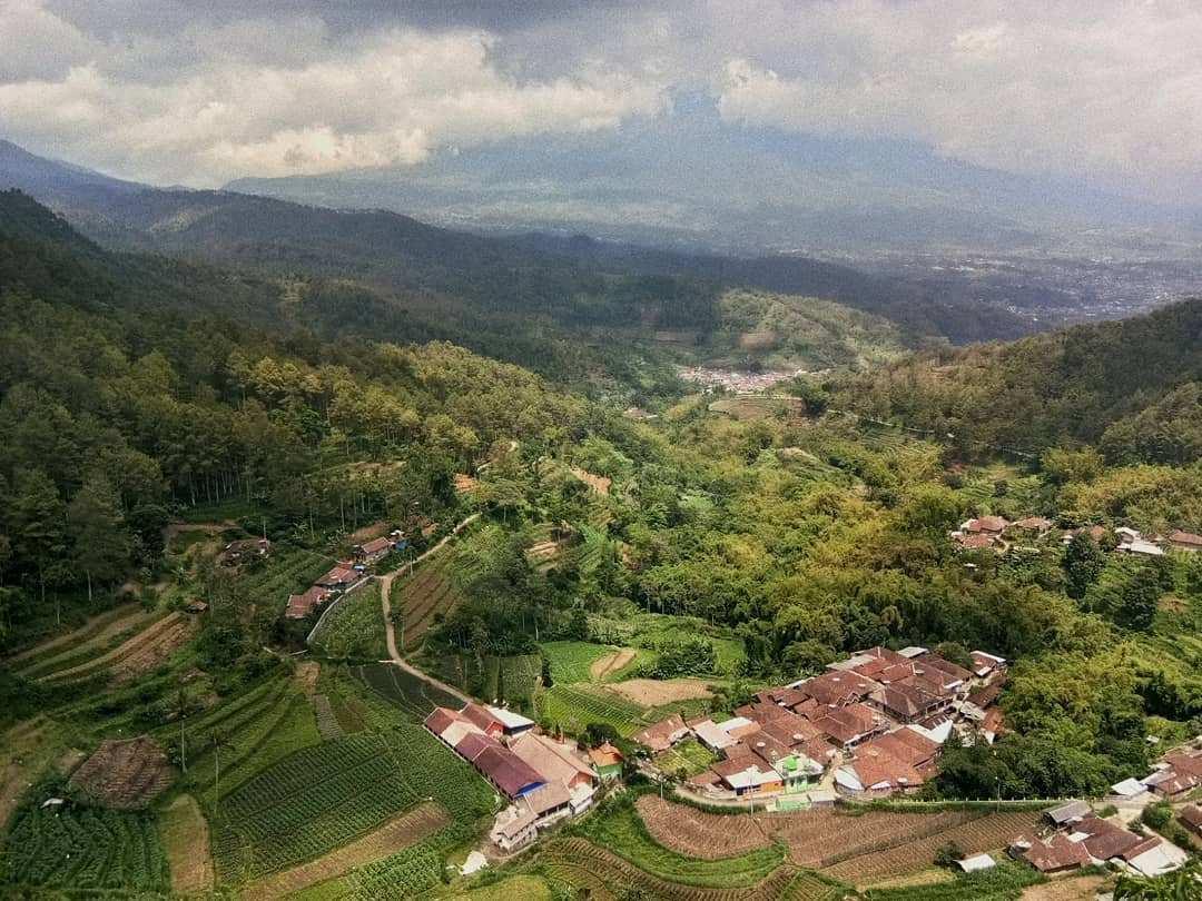 Pemandangan Yang Dapat Dilihat Dari Lokasu Goa Pinus PUjon, Batu, Malang, Image From @punyapitra