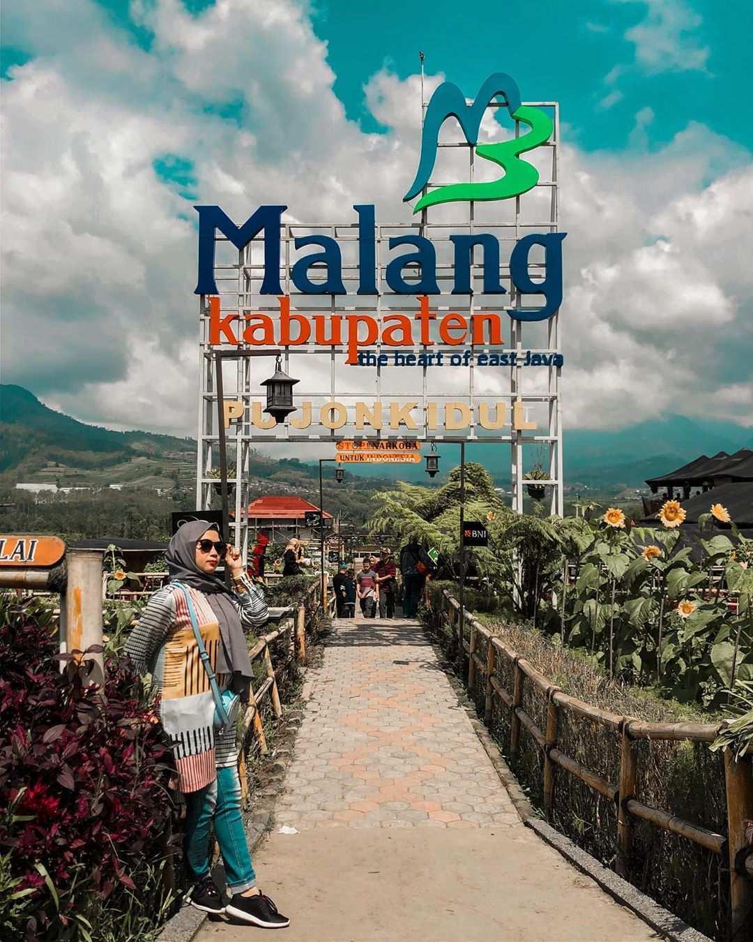 Berfoto di Desa Wisata Pujon Kidul Malang, Image From @citra_ekasari
