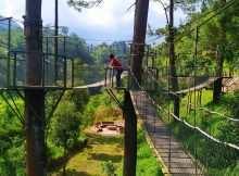Jembatan Gantung Yang Ada di Plunyon Kalikuning, Image From @aditz_99