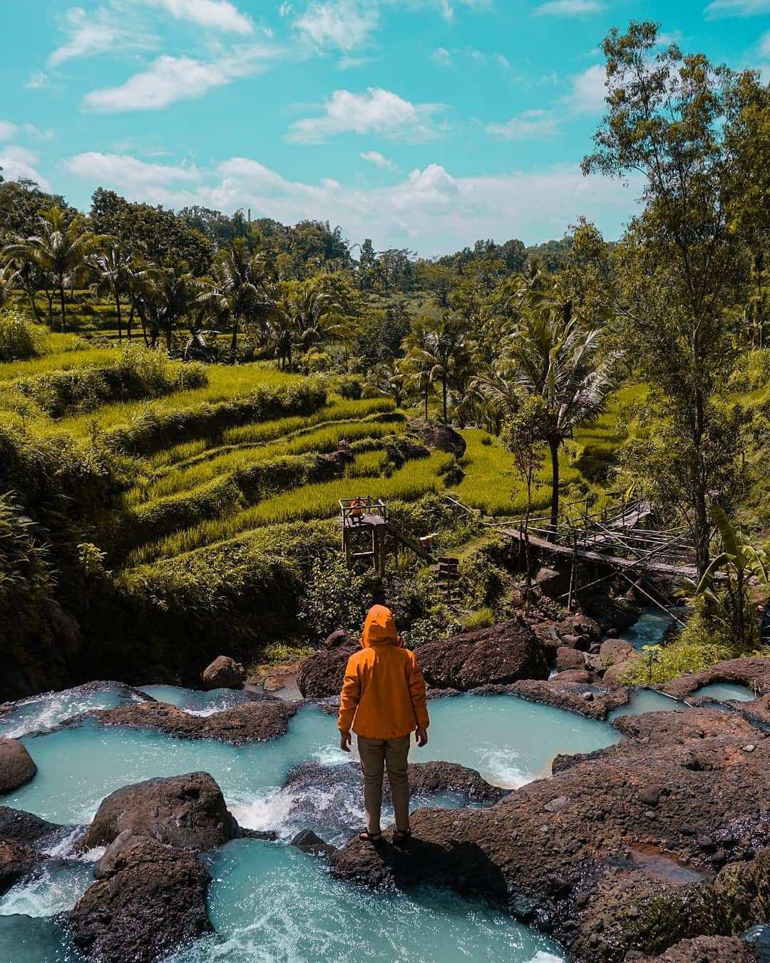 Foto Instagramable di Air Terjun Kedung Kandang, Image From @jejak_penjelajah