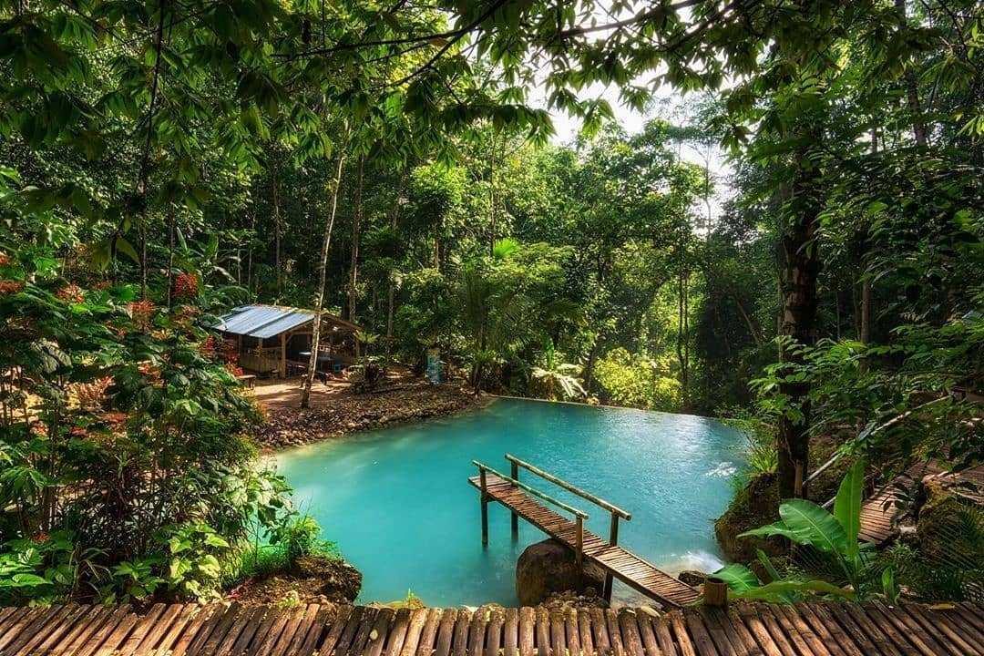 Kolam di Bawah Air Terjun Kembang Soka Jogja, Image From @rezanuraulia