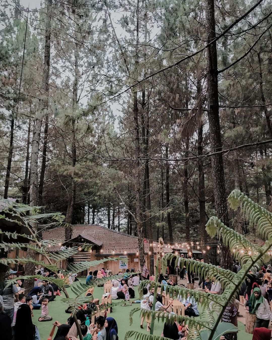 Suasana Pengunjung di Kopi Daong Bogor Image From @venstorys