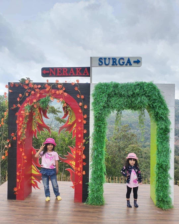 Spot Foto Surga dan Neraka di Cicalengka Dreamland, Image From @dhenzerr46