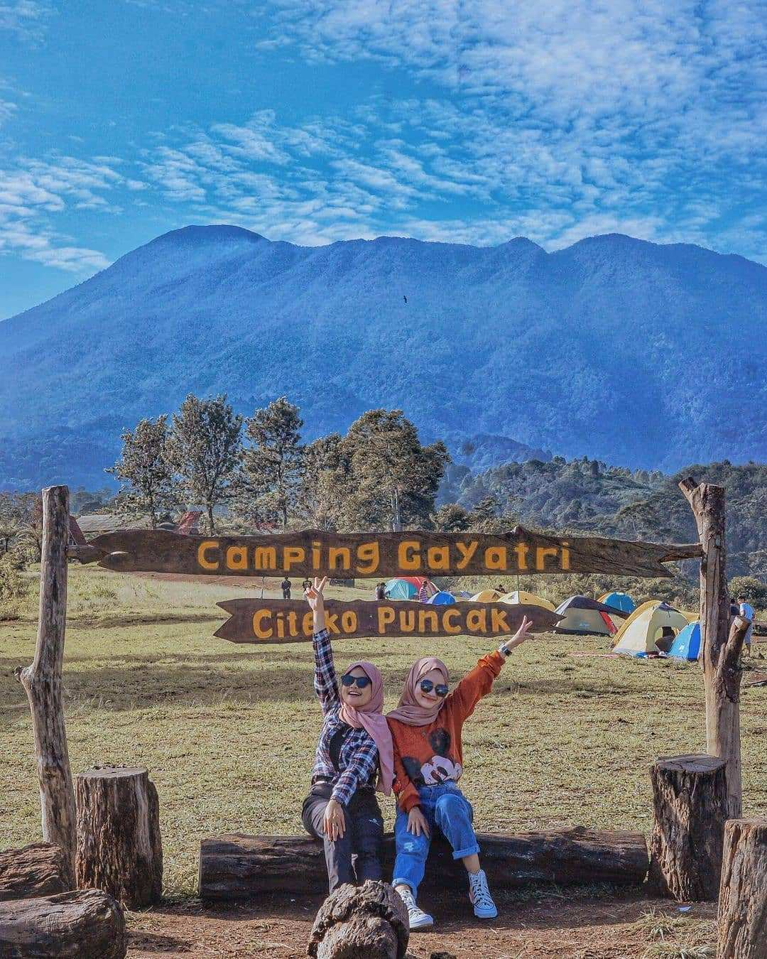 Berfoto di Camping Ground Gayatri, Image From @apsunandar