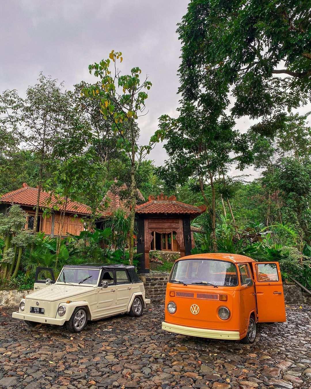 Mobil VW di Sawah Segar Sentul Bogor Image From @sawahsegarsentul