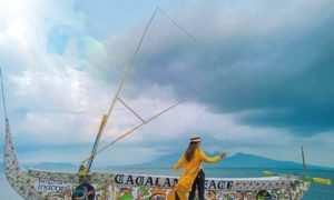 Spot Foto Perahu di Pantai Cacalan, Image From @arumdwi_indahsari