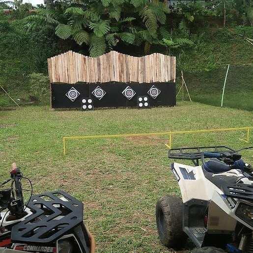 ATV di Palemboko Sentul Farm Field Bogor Image From @lilis_tyakirana