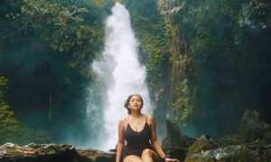 Berfoto di Air Terjun Telunjuk Raung, Image From @kartikangg
