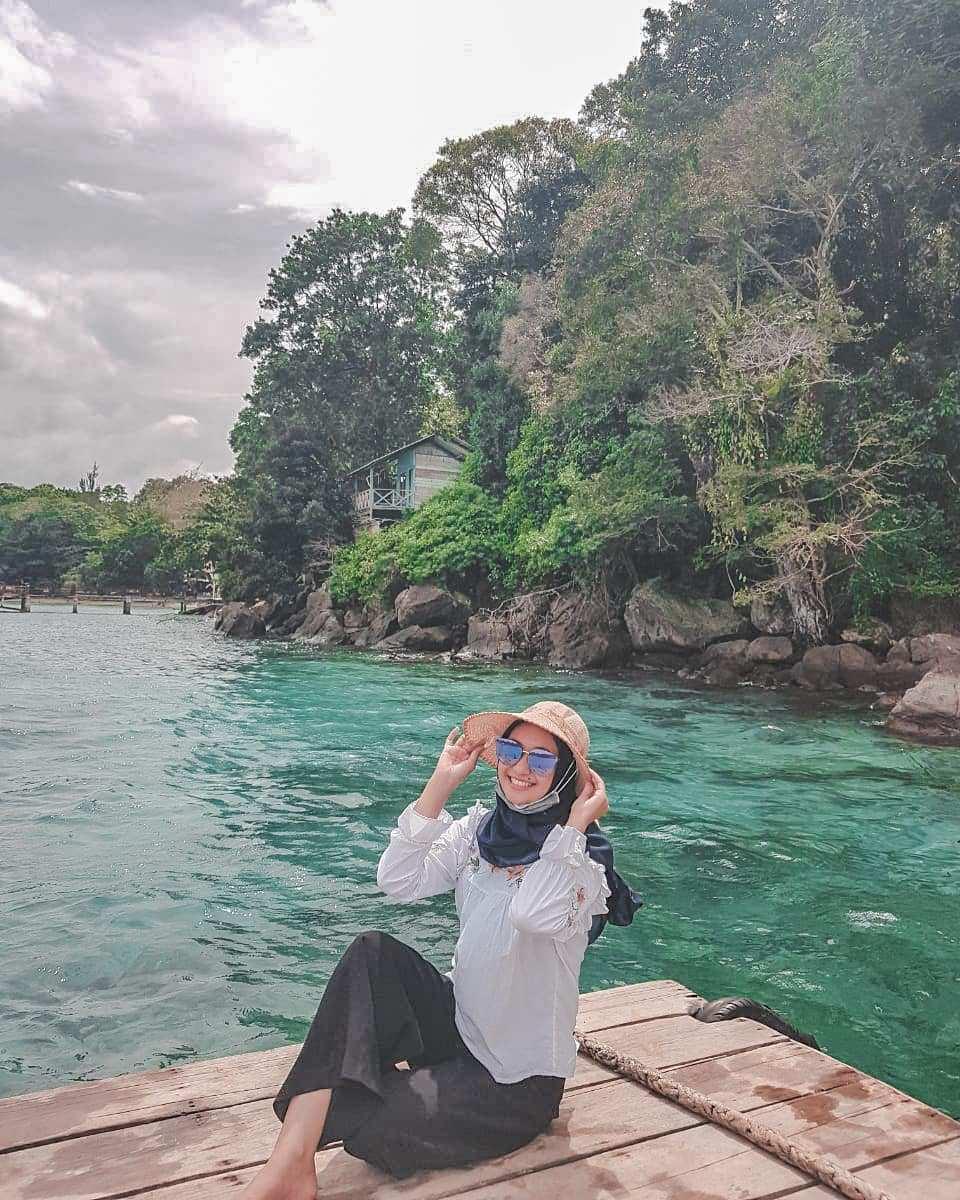 Bersantai di Pulau Rubiah, Image From @pocutshahnaz