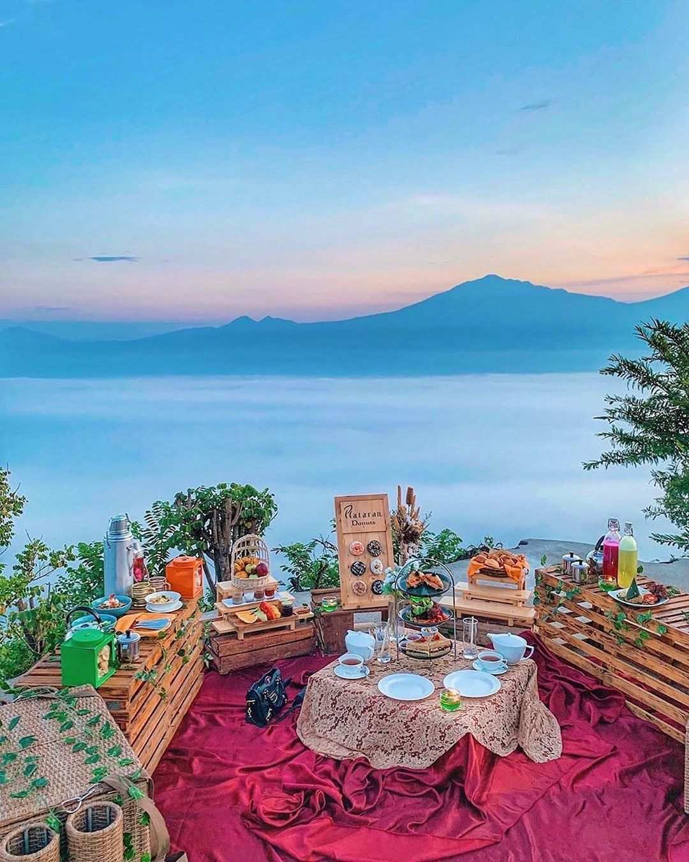 Paket Piknik di Mata Langit Borobudur Image From @intenyulianda
