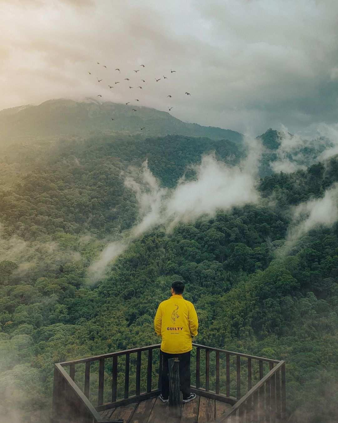Spot Foto Gardu Pandang di Wisata Panorama Petung Sewu Image From @ordipras
