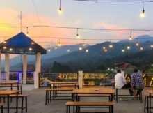 Suasana Pemandangan di Ramatama Cafe Bogor, Image From @seputarpuncak