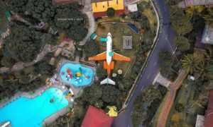 Taman Kyai Langgeng Magelang Dilihat Dari Atas, Image From @dhian_hardjodisastro