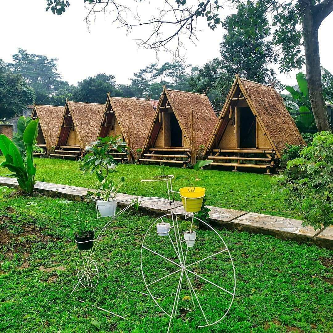Glamping di Sangkara Garden Coffee And Resto Image From @bogorbikinlaper